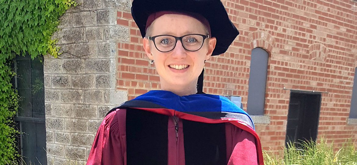 Danika Bakke, PhD'16_ July 2018