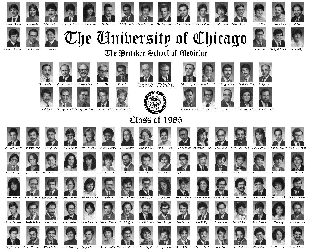 Pritzker Class of 1985