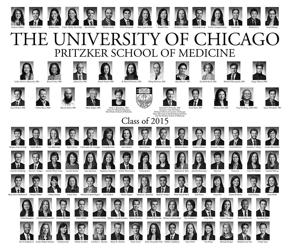 Pritzker Class of 2015