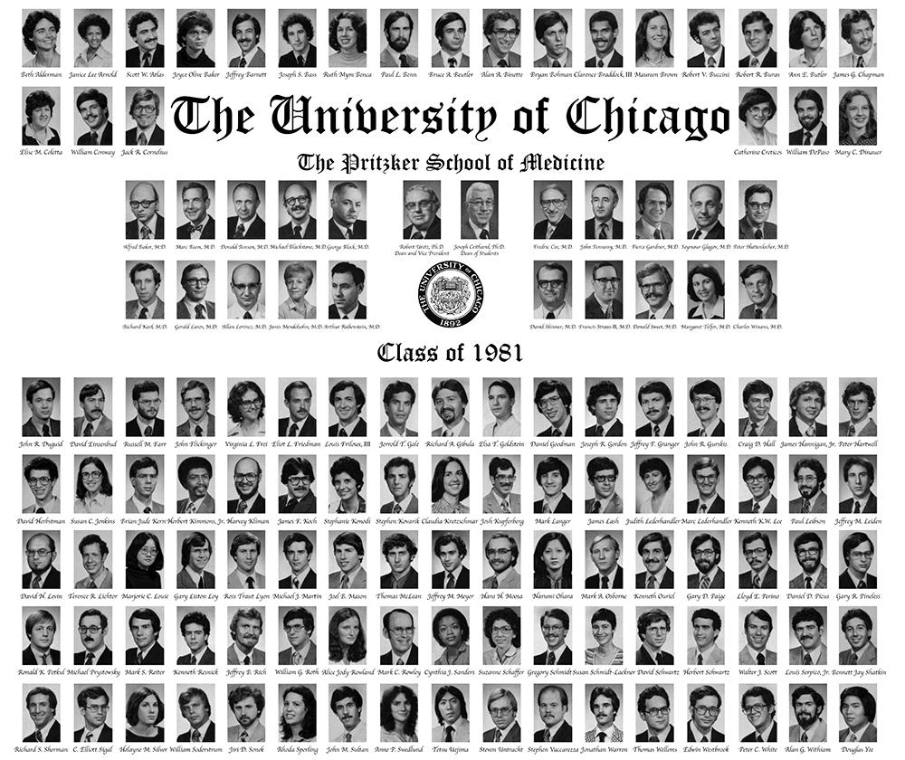 Pritzker Class of 1981