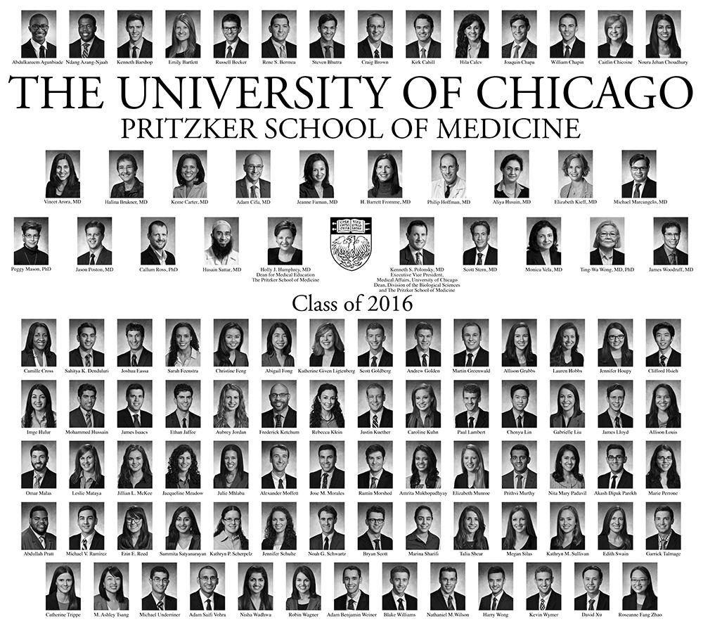 Pritzker Class of 2016