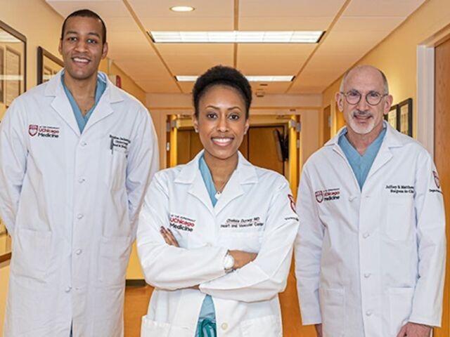 surgery doctors at UChicago Medicine