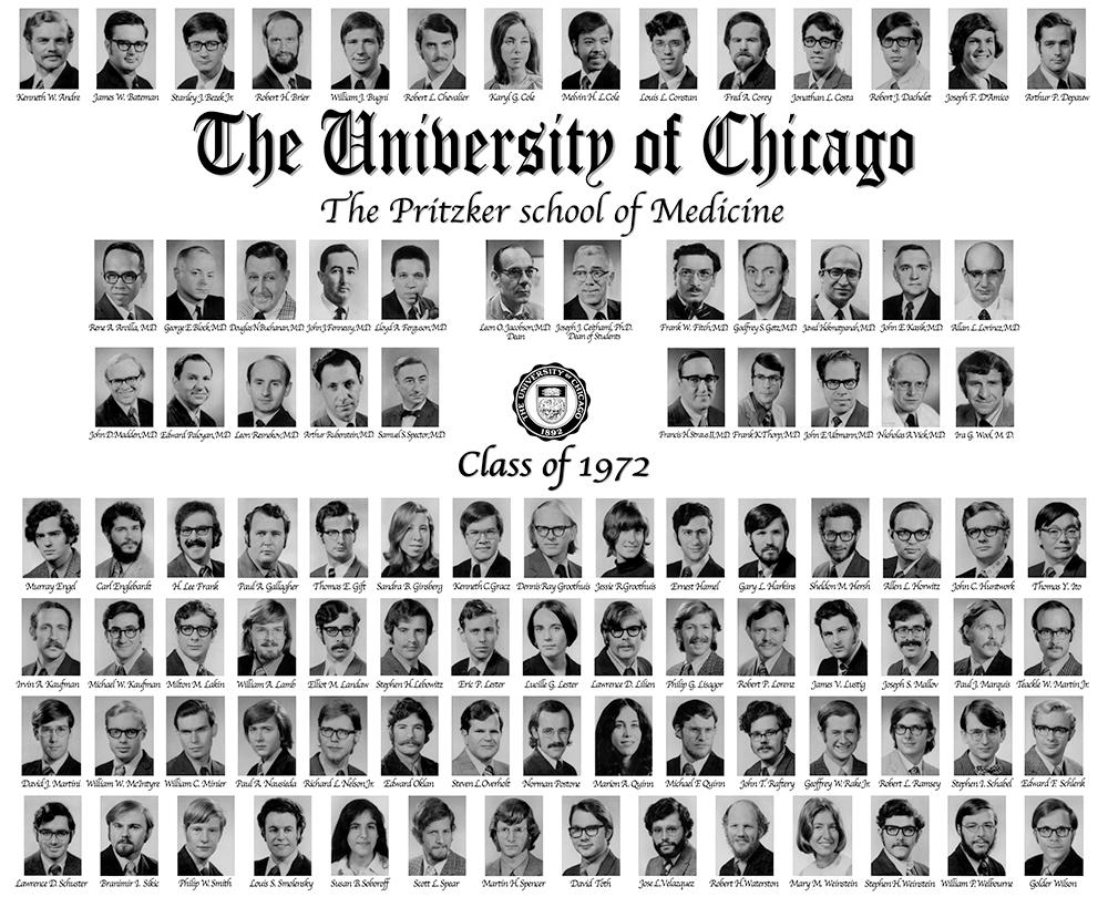 Pritzker Class of 1972