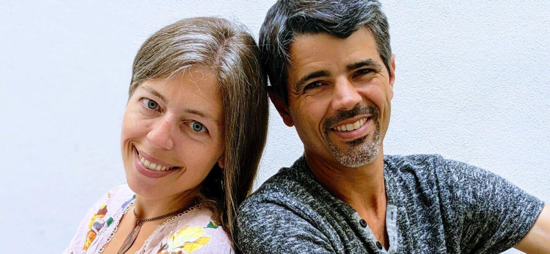 Pilar Ortega, MD'06, and Joseph Cooper, MD'06